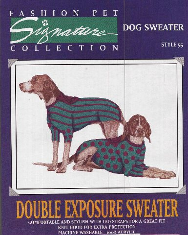 double exposure sweater